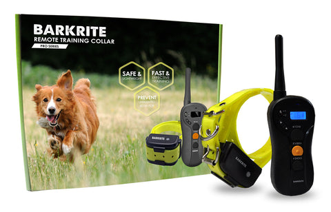 Pro Series Dog Rechargeable Remote Training Bark Collar