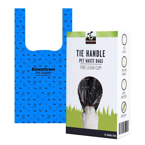 Tie Handle Pet Waste Bags