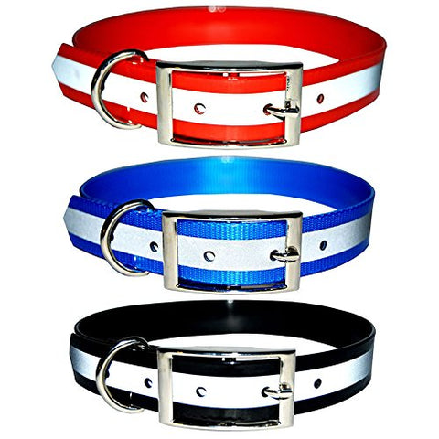 Reflective Safety Dog Collar, No Batteries Required