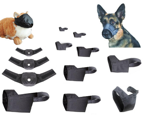 Bulk Variety Pack, Quick Fit Dog and Cat Muzzles