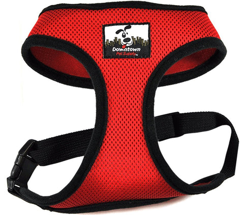 Stylish Small Dog Comfort Harness, No More Tugging, By Downtown Pet Supply
