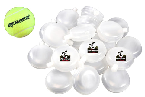30 Packs + Free Squeakinator Tennis Ball, Dog Replacement Squeakers