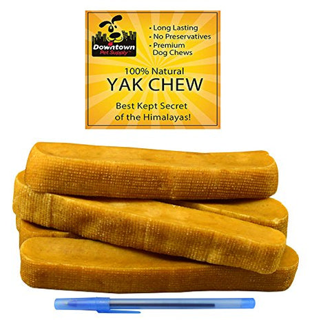 Yak Chews for Dogs from the Himalayan Mountains - Value Packs