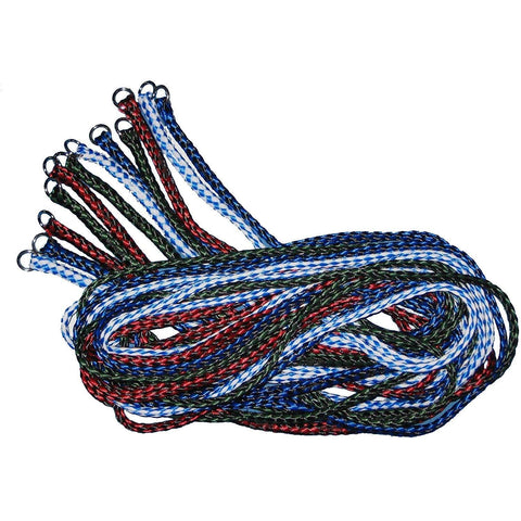 5 Foot Braided Slip Leads - Assorted Colors