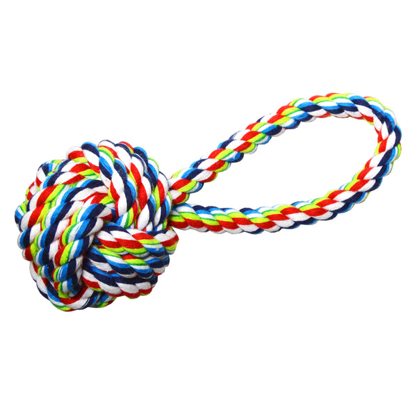 Tough Rope Dog Chew Toys Set - Great for Aggressive