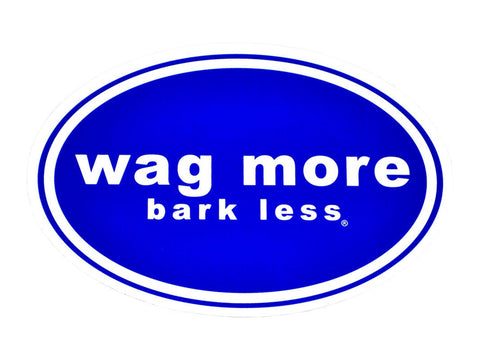 Individual Bumper Stickers - Wag More Bark Less