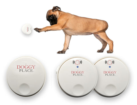 Self Powered Wireless Electronic Doorbell - My Doggy Place Doorbell Chime for Dogs, Pets, Children, and Toddlers