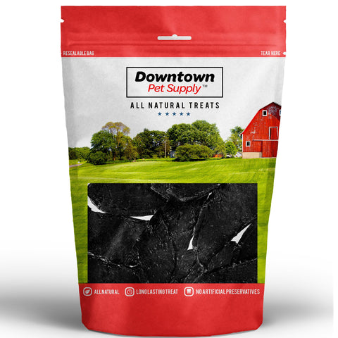 Premium Dried Beef Liver Jerky Treats for Dogs, Made in USA, All Natural Source of Protein Chews