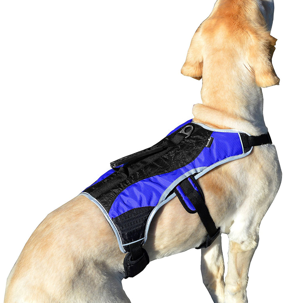 Dog Support Harness Vest  No Pull With Reflective Trim