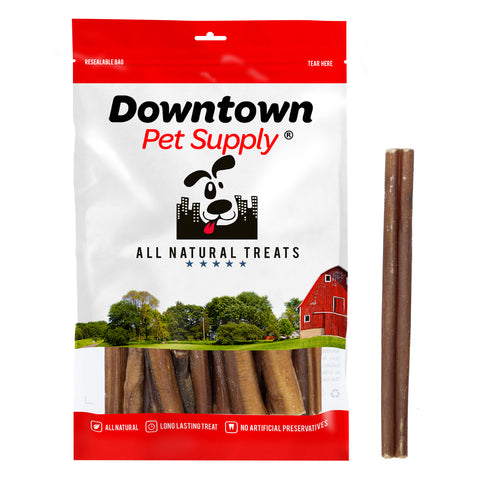 6 - 12 inch Junior Bully Sticks - 100% Natural Thin Dog Chew Treats
