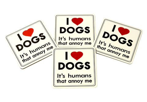 Love Dogs Coasters