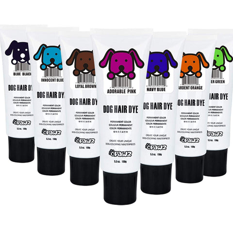 Pet Dog Hair Dye Gel, Fun Colors