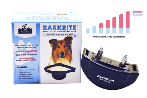 Progressive Dog Training Collar, Tone & Static Shock