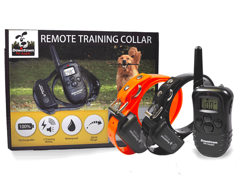 Rechargeable Dog Training Collar with Remote, with Vibration, Shock & Tone Settings