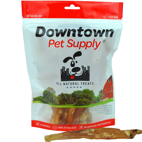 "Beef Tendons - All Natural Healthy Dog Treats from Free Range Beef, 8"" - 10"" long"