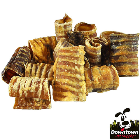 "Premium 3"" and 6"" Beef Trachea Dog Chews, 100% Natural"