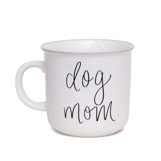Dog Mom Rustic Campfire Coffee Mug