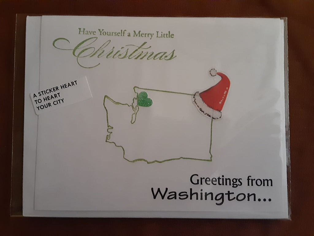 Greeting from WA Christmas Card