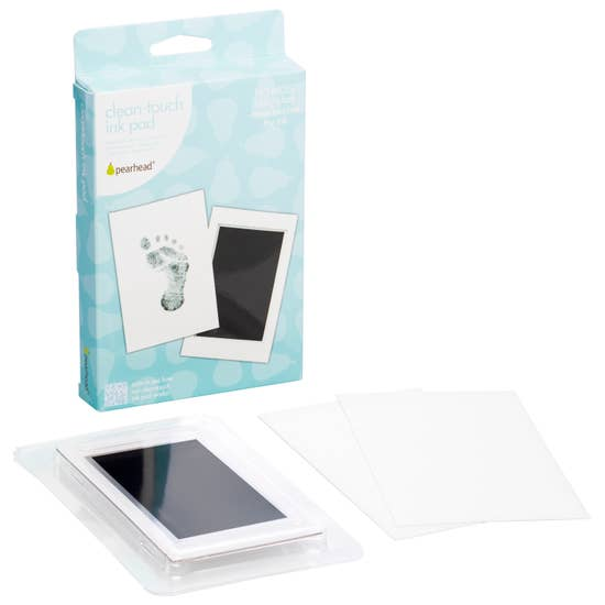 Clean-Touch Handprint or Footprint Ink Pad