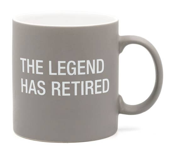 The Legend has Retired Stoneware Mug
