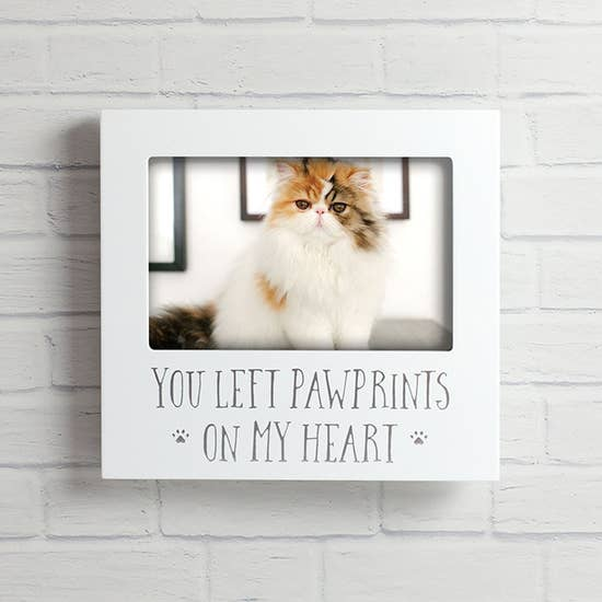 You Left Pawprints Frame