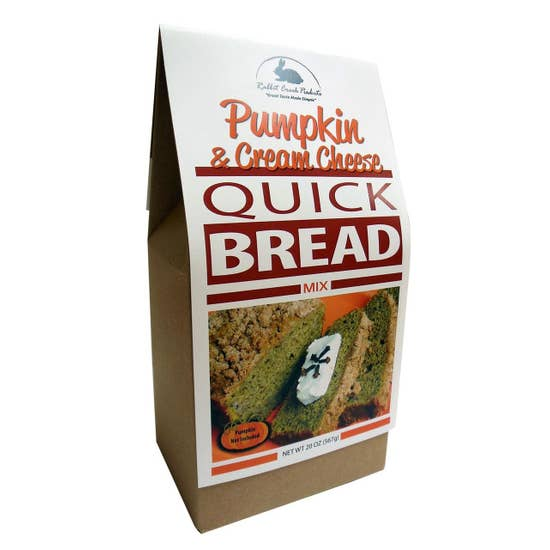 Pumpkin and Cream Cheese Bread Mix