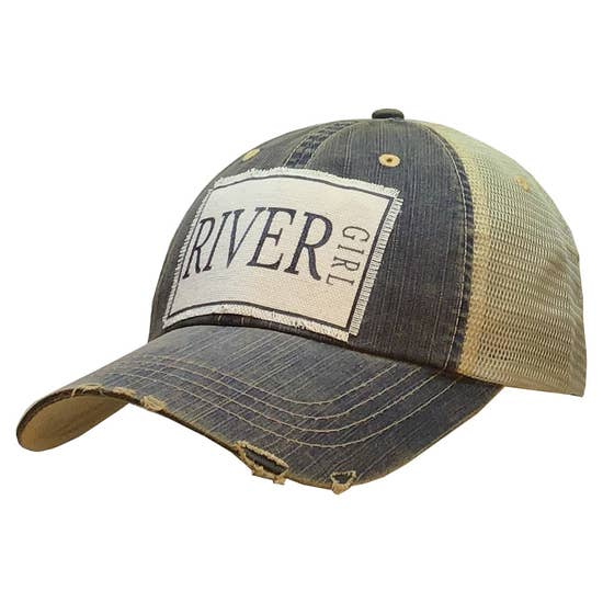 River Girl Distressed Hat