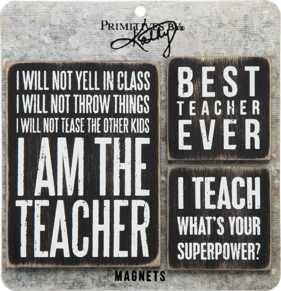LOL Enamel Pin Teacher Whats Your Superpower