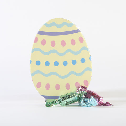 Easter Egg Embellished Dishtowel