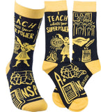 Socks - I Teach What's Your Superpower