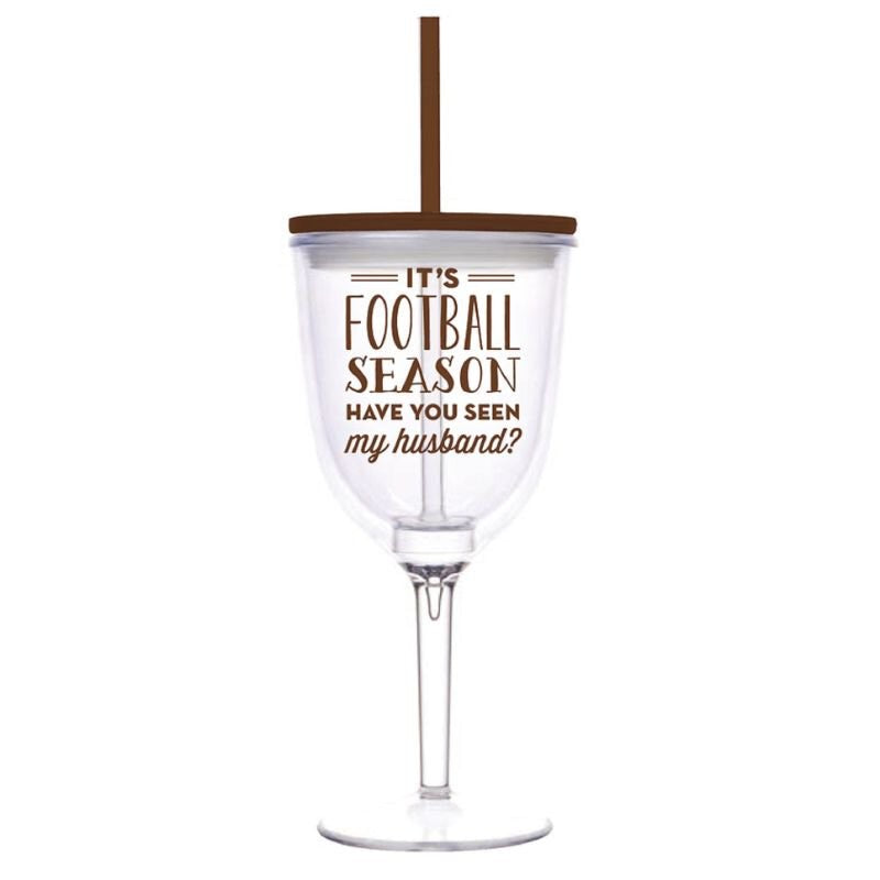 Wine Glass - It's Football Season