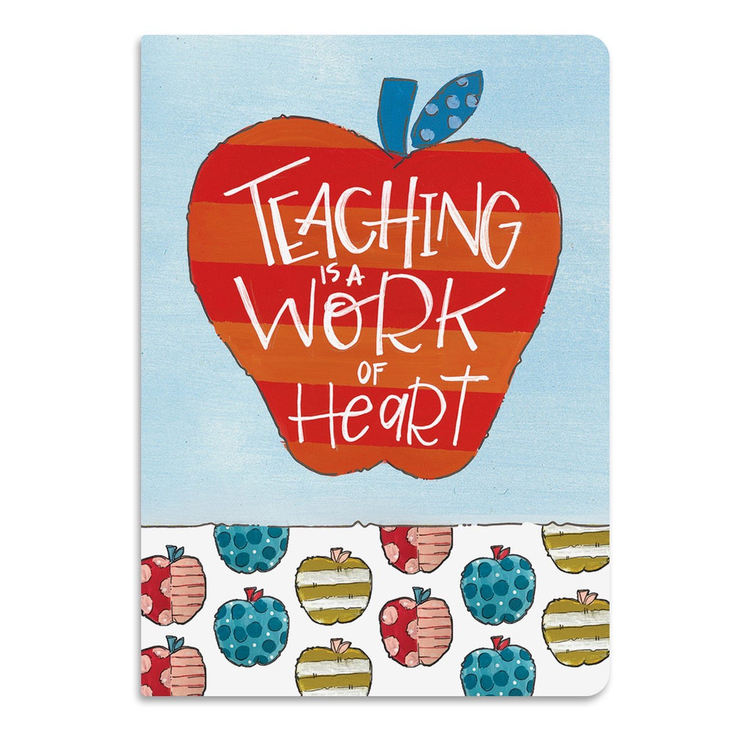 Teaching Work of Heart Softcover Journal