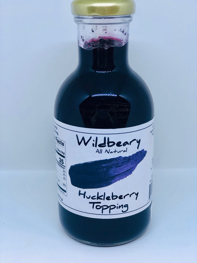 Huckleberry Topping