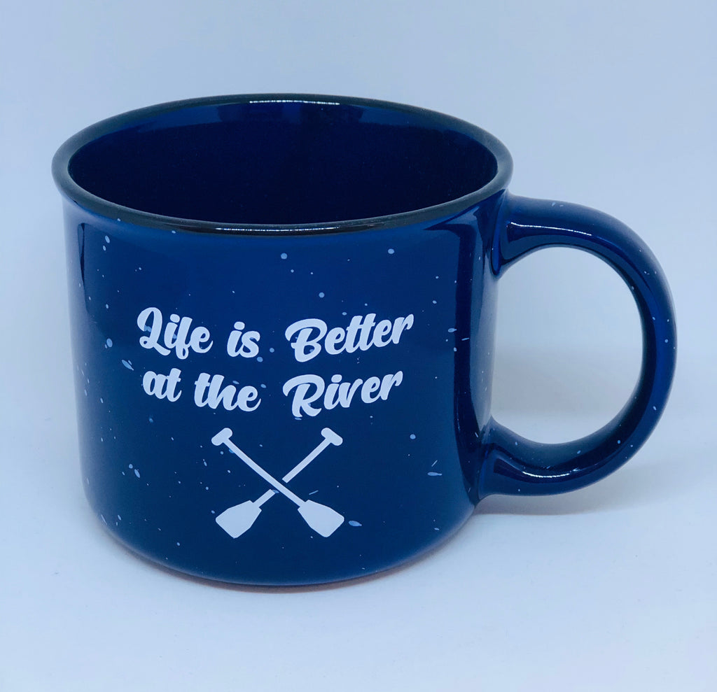 Campfire Mug - Life is Better at the River