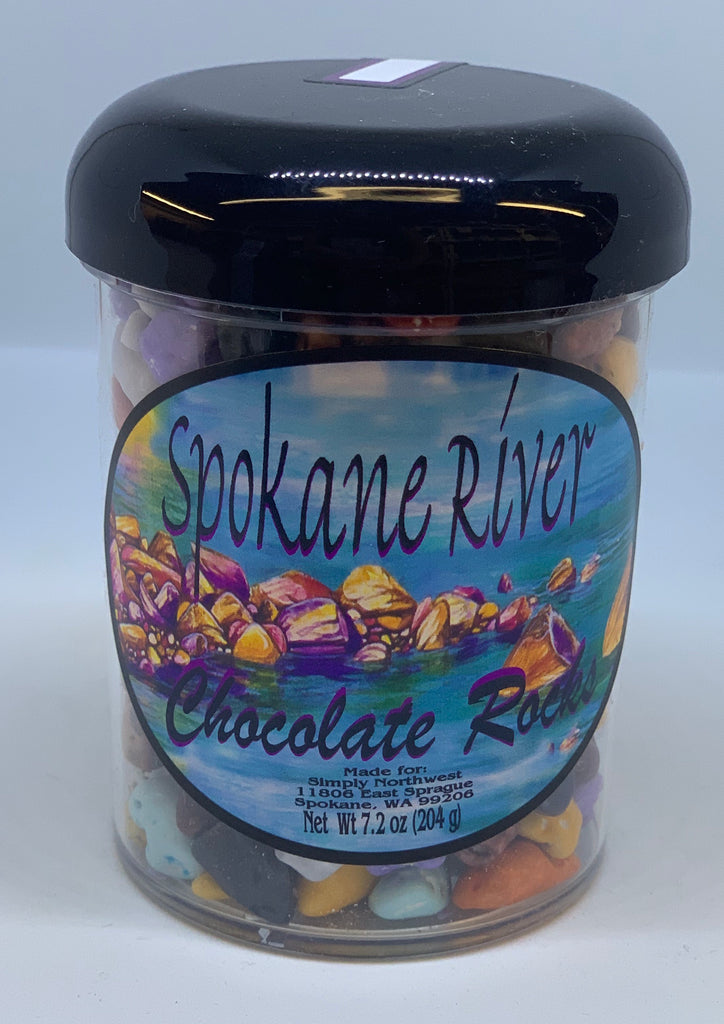 Spokane River Chocolate River Rocks