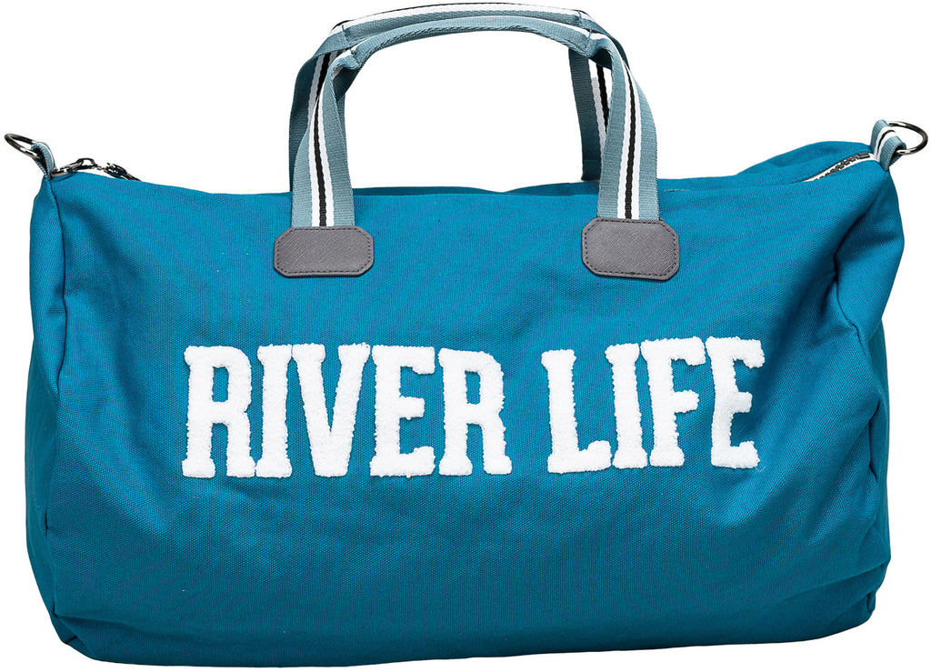 River Life Canvas Duffle Bag