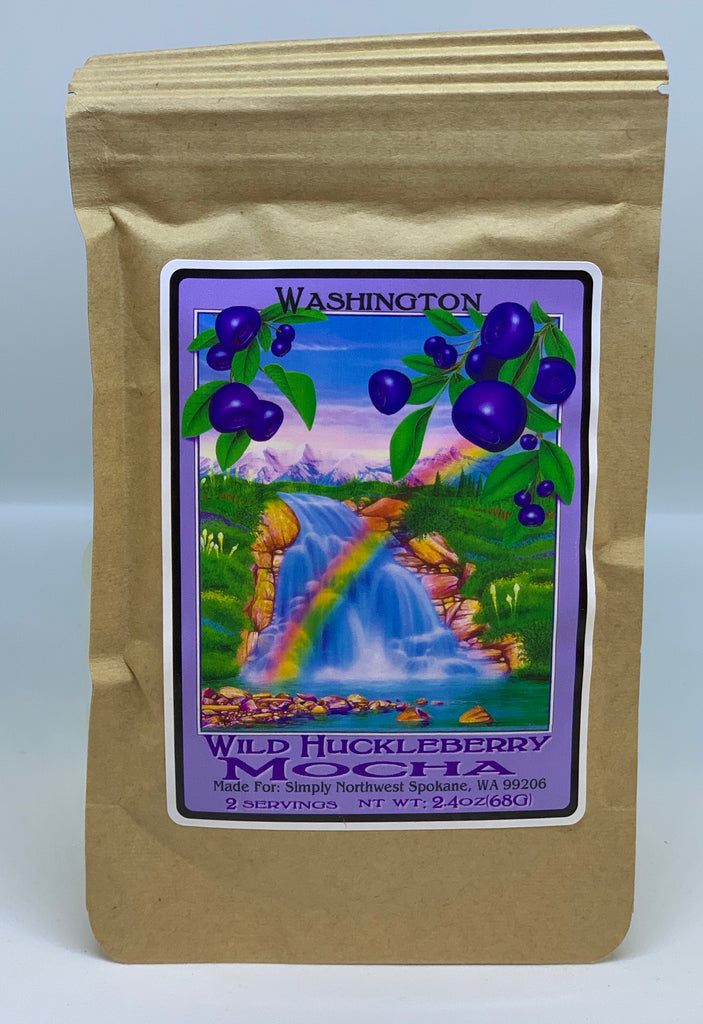 WA Wild Huckleberry Mocha Packet