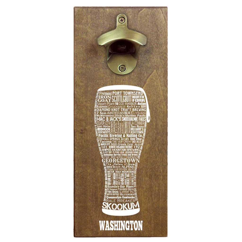 WA Craft Beer Magnetic Bottle Opener