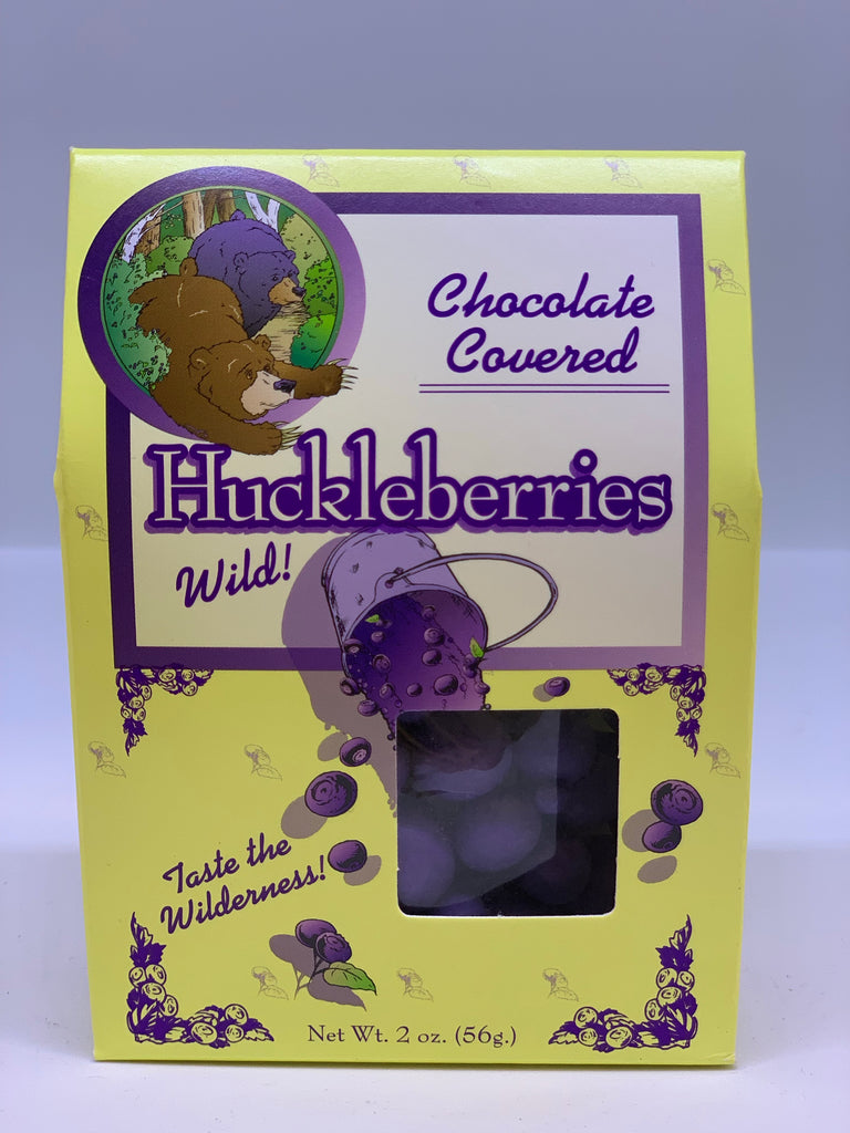 Chocolate Covered Wild Huckleberries