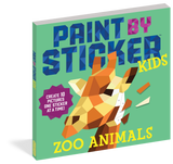 Paint by Sticker - Zoo