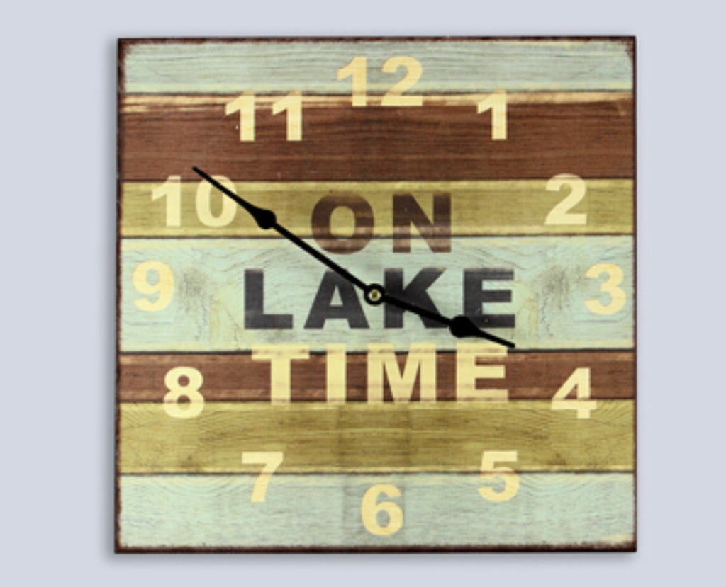 On Lake Time Clock