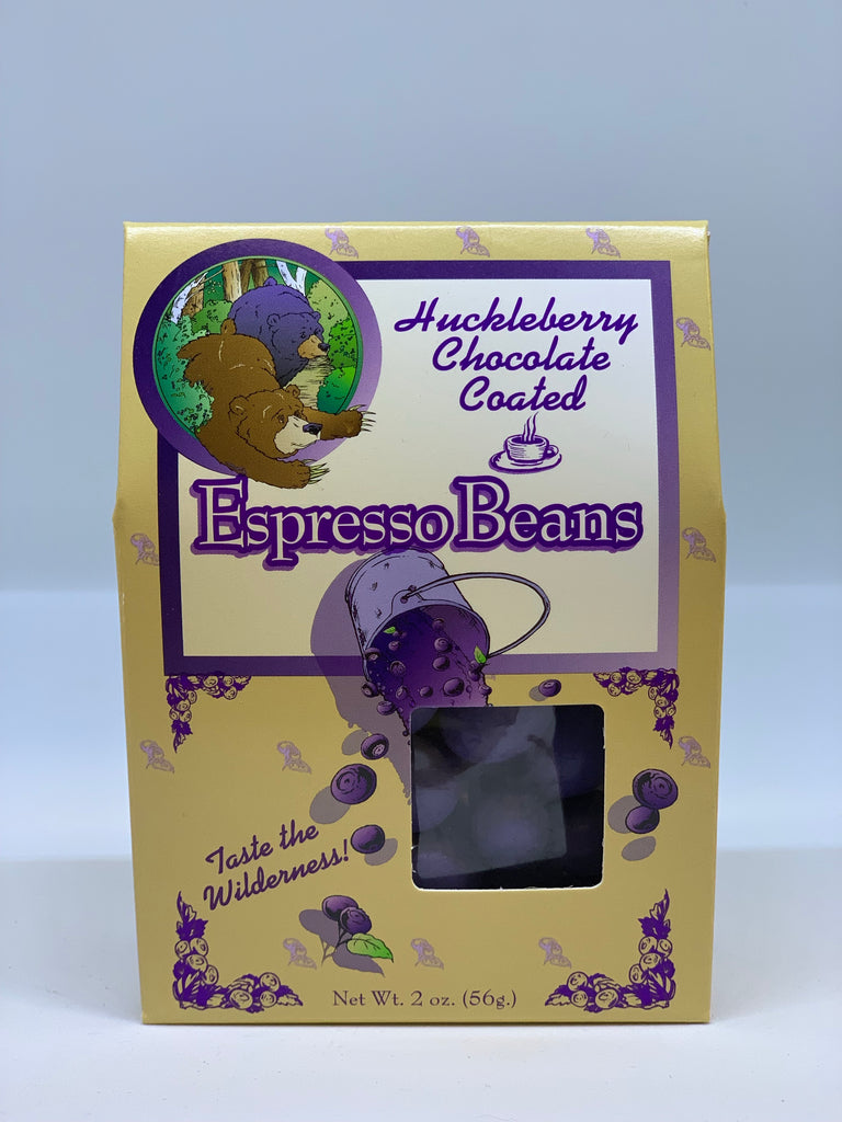 Huckleberry Chocolate Coated Espresso Beans
