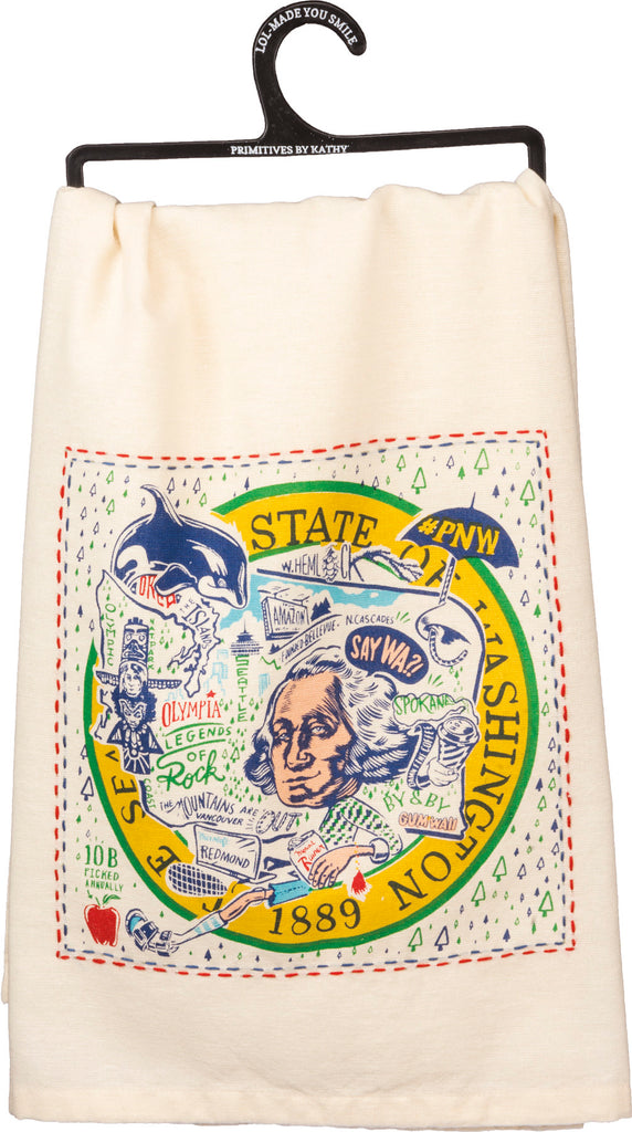 Washington Dishtowel