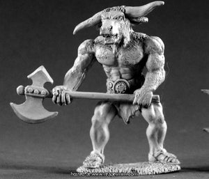 Miniature: Metal | Minotaur Lord