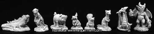 Miniature: Metal | Familiar Pack IV