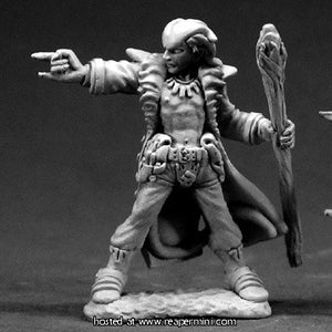 Miniature: Metal | Damien, Hellborn Wizard
