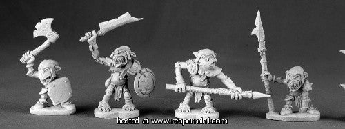 Miniature: Metal | Goblins [4]