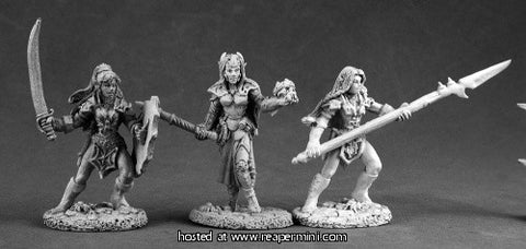 Miniature: Metal | Dark Heaven: Dark Elves