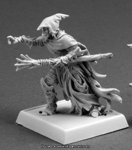 Miniature: Metal | Dramorion, Dark Elf Sorcerer