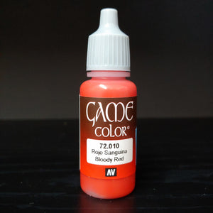 Game Color Bloody Red 17ml